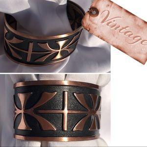 Jewelry - 🤑FINAL SALE💰 Vintage Solid Copper Cuff
